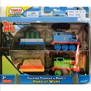 Thomas TALKING Train PERCY THOMAS - Lights Sounds